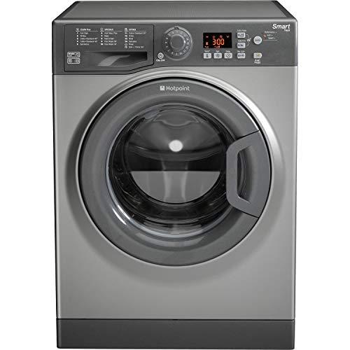 Hotpoint WMFUG742G 7kg 1400rpm Freestanding Washing Machine - Graphite