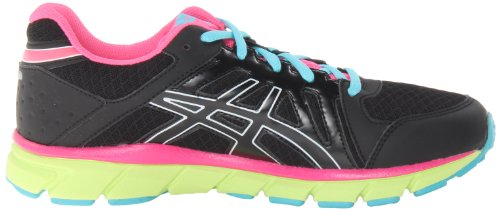 Asics - Kinder-Gel Lyte33 2 Gs Laufschuhe Black/Flash yellow/hot pink