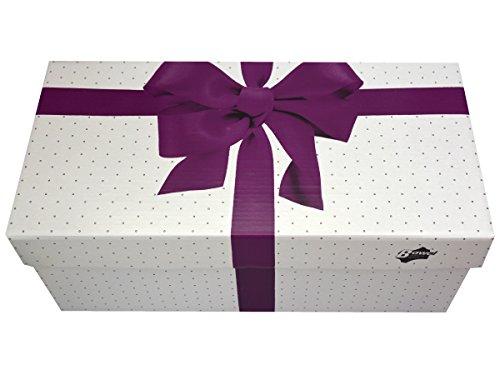 Relaxen Herren Filz Hausschue Pantoffel Filzpantoffeln Super Opa Geschenk Geschenkkarton (Wahlweise) Schwarz FM54 Schwarz+Box