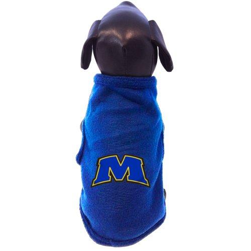 All Star Dogs NCAA Morehead State Eagles Ärmelloses Polar Fleece Hundepullover, Herren, XX-Large (Eagle Ärmelloses)
