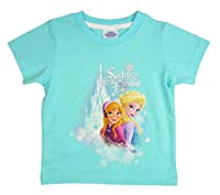 Disney Frozen Sisters Forever Girls T-Shirt - Age 18 - 3-4 Years / up to 104 cm