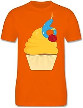 Geburtstag Kind - 6. Geburtstag Cupcake - Kinder T-Shirt