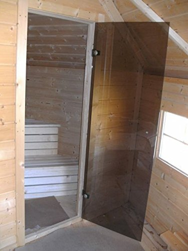 JUNIT Saunakota mit Vorraum, Fichte für ca. 9 Personen - 4