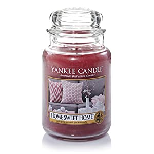 Yankee Candle Large Jar Scented Candle, Home Sweet Home, Up to 150 Hour Burn Time