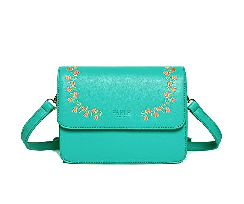 Bubble And Bling Boutique - Borsa a tracolla donna Green