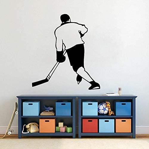 52 CM * 57,9 CM Interessant Lacrosse Wohnzimmer Das Schlafzimmer Wandaufkleber PVC Küche Und Fitnessstudio Aufkleber (Lacrosse Schmuck)