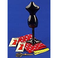 12th Scale Dolls House Accessory - Tailors Dummy With Accessories S11403