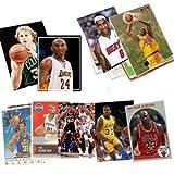 40Basketball hall-of-fame & Superstar Karten Sammlung in der Spieler wie Michael Jordan, Magic Johnson, Lebron James. Schiffe in Schutzhülle aus Kunststoff Perfekt für Geschenk geben.