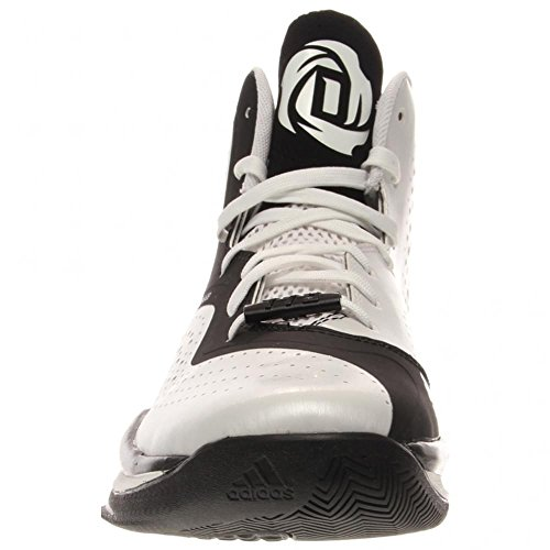 adidas D Rose 773 III Mens Basketball Shoe 10 Black-Scarlet White-Black