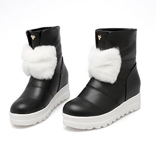 Chaussures Balamasa Abl09774 Fuiaux Compensées Sandales Noir Femme gHxnZEYYt