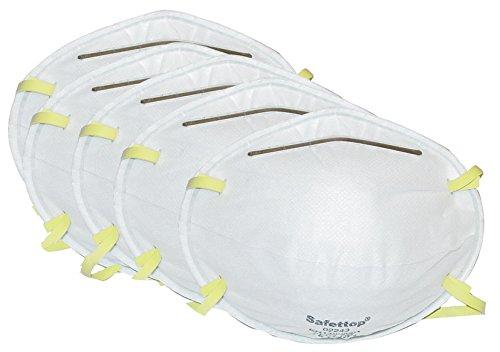 Atemschutz Staubmaske 5 Stück EN 149 Schutz Schutzklasse FFP1 Mundschutz I 5er Pack
