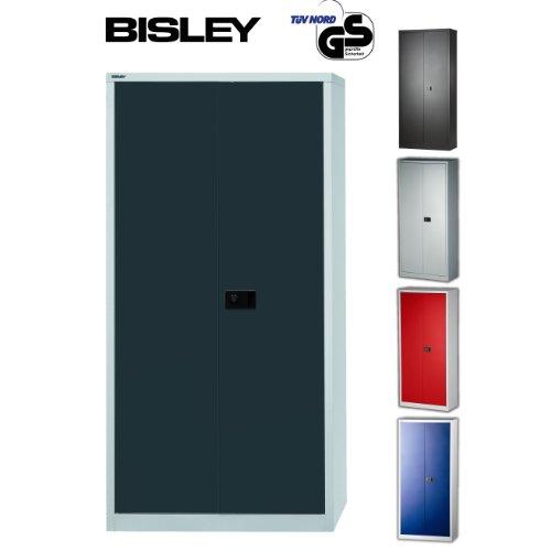 Aktenschrank Bisley - Ein Aktenschrank aus Metall abschließbar