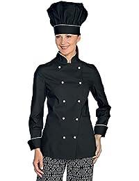 Amazon.it  giacca cuoco donna - LUIS WORKWEAR  Abbigliamento 384d7df52b26