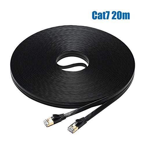 FOSTO - Cable Ethernet Cat7 de 30 m