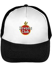 Wicked Design Havana Club Logo Cappello Snapback Nero Bianco One Size ffe17d2c8b17
