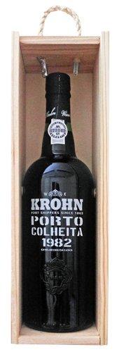 Krohn Colheita 1982 Vintage Tawny Port In Wooden Box 75cl