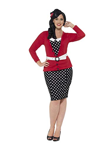 Smiffys 24455X3 - Damen 50er Jahre Pin Up -