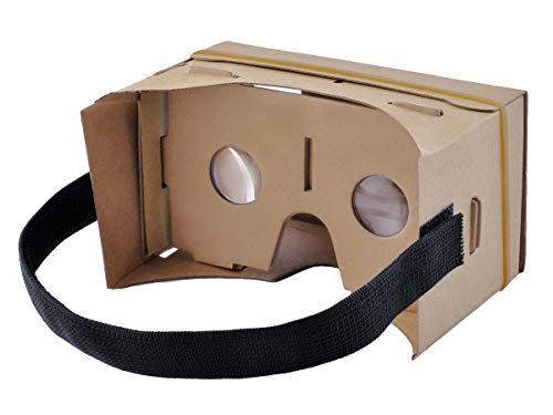 Iso Trade VR Goggle Cardboard DIY 3D Virtual Reality Brille für alle Betriebssystem 2166
