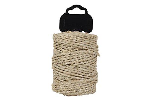 Cofan 08101066 - Bobina de sisal pita 3 cabos (750 g) color natural