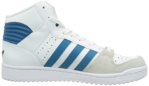 adidas Pro Play 2, Baskets mode mixte adulte Blanc (Running White Ftw/Hero Blue F13/Neo White S08)