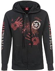 The Walking Dead Kill or Die female zipper hoodie, Frauen Kapuzenjacke