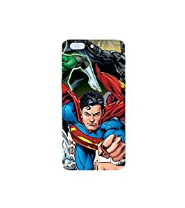 Superheroes Printed Back Cover for One Plus Five