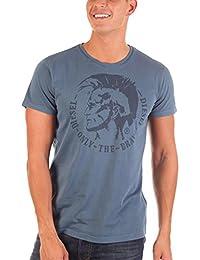 Diesel Camiseta Manga Corta Azul M