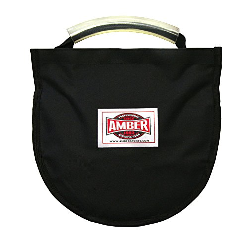 Preisvergleich Produktbild Amber Athletic Gear Unisex Adult Discus Carry Bag With Strap For One Implement,  Black,  Nicht Nicht zutreffend