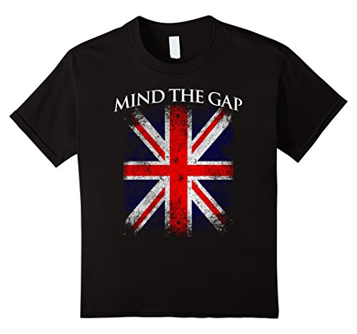 kids-mind-the-gap-london-underground-british-flag-vintage-t-shirt-10-black