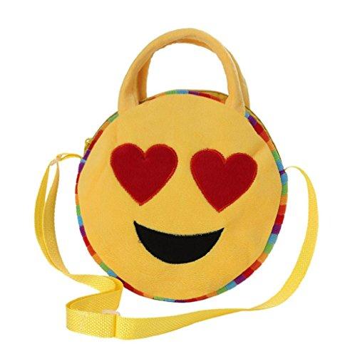 Emoji Emoticono Mini bolsa Sannysis mochila infantil colorful (07)
