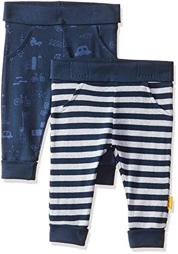 Mothercare Baby Boys' Regular Fit Joggers (Pack of 2)(MA673-1-multicoloured-0-3 Months)