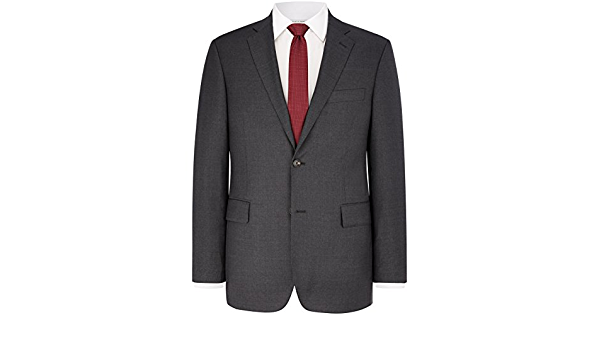 Austin Reeed Menstailored Suit Jacket The Westminster Luxurious Wool Rrp 269 00 42s Charcoal Amazon Co Uk Clothing