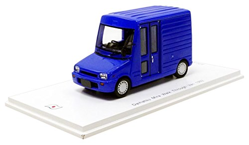 Spark-Mira Walk Trough Van 1992Daihatsu, sj043, Azul, en Miniatura (Escala 1/43