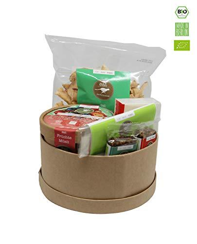eat Performance® Gute Besserung Geschenkkorb (5 Artikel + Box) - Bio, Paleo, Glutenfrei Aus 100{1c04657da66826c33a1252ffaae01fa996d16ed42b0209d6b8516bcf99b56bd4} Natürlichen Zutaten