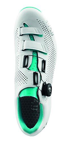 Fizik R4B Rennradschuhe Damen weiß/emerald grün 2017 Mountainbike-Schuhe weiß/emerald grün