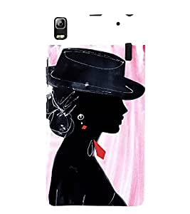 Party Girl 3D Hard Polycarbonate Designer Back Case Cover for Lenovo K3 Note
