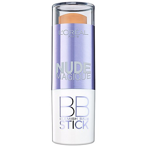 L'Oréal Paris Make Up Nude Magique BB Stick, 01 Light / Pflegender deckender Blemish Balm...