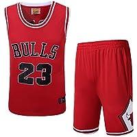 Camiseta De Tirantes Deportiva De Basket NBA 23 Camiseta De Baloncesto Pantalones Cortos Verano Jerseys Uniforme