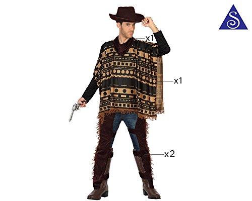 Imagen de atosa  disfraz de vaquero para adulto  111 29016  alternativa