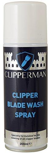 Trilanco - Clipperman Clipper Blade Wash Spray - 200ml - EU/UK (Clipper-spray)