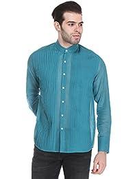Reevolution Men's Handloom Cotton Featherlight Shirt (MCPS310296)