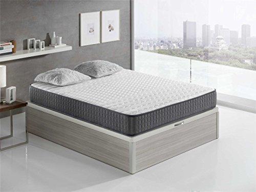 Relaxing-Confort Velver 25 5.0 - Colchón viscoelástico, 90 x 200 ...