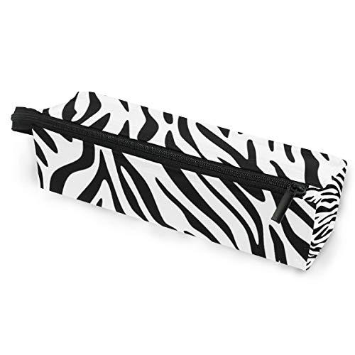 Bleistiftbeutel federmäppchen beutel zebra animal print make-up kosmetische sonnenbrille für mädchen jungen reiseschule