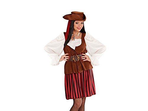 Widmann 5684H Erwachsenenkostüm Piratenbraut, -