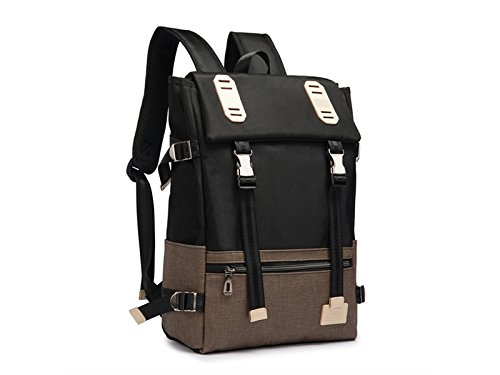 HOUHOUNNPO Perfect Student Laptop Computer Backpack Hiking Backpack for 15-15.6 Inch Laptop