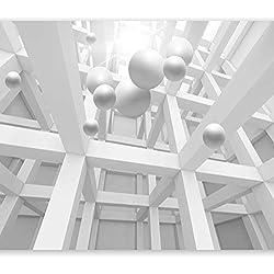 murando – Papier peint intissé – 400x280 cm – Papier peint – Tableaux muraux – Déco – XXL– abstraction 3D a-C-0029-a-a