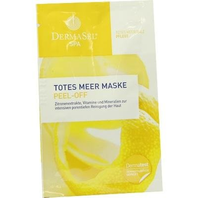 DermaSel-Masque Peel-Off au Sel de la Mer Morte - DermaSel Spa - 12ml