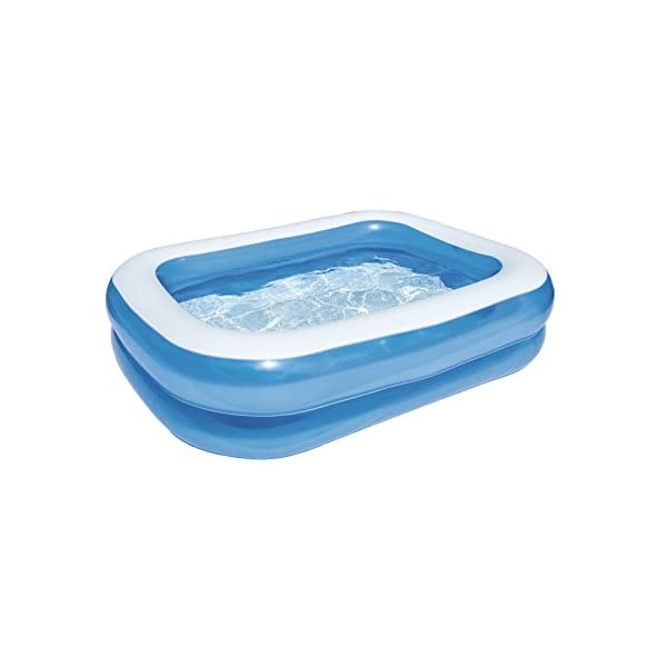 Bestway Rectangular Inflatable Family Paddling Pool 41Bv5K277VL
