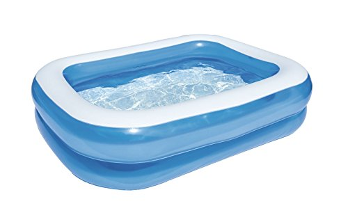 Bestway 54005 - Piscina familiar rectangular, color azul, 201 x...