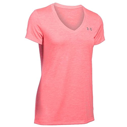 Under Armour Women's Tech V-Neck Twist Short Sleeve Short-Sleeve Shirt